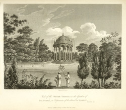 View of the Water Temple in the Gardens of Dil Gusha, or 'Expansion of the Heart' at Cambay